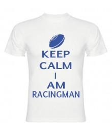 Tee Shirt Keep Calm I Am Racingman