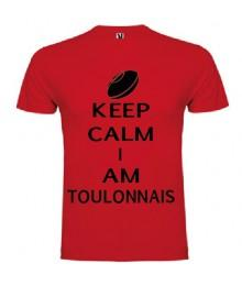 Tee Shirt Keep Calm I Am Toulonnais