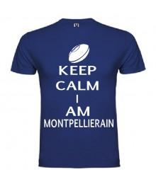 Tee Shirt Keep Calm I Am Montpellierain