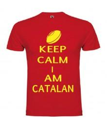 Tee Shirt Keep Calm I Am Catalan
