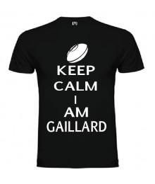 Tee Shirt Keep Calm I Am Gaillard