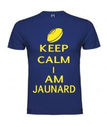 Tee Shirt Keep Calm I Am Jaunard