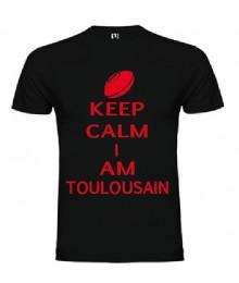 Tee Shirt Keep Calm I Am Toulousain