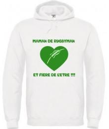 Fier Rugby F/éminin Cadeau Femmes Joueur De Rugby Sweat /à Capuche