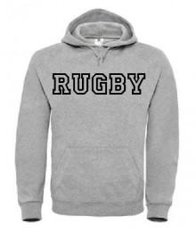 Sweat Rugby Let Gris