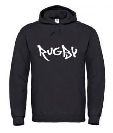 Sweat Rugby Wazted Noir