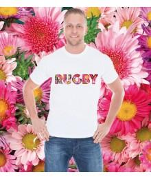 Tee Shirt Rugby Originals Flowers