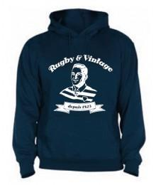 Sweat capuche Rugby & Vintage Buste Navy