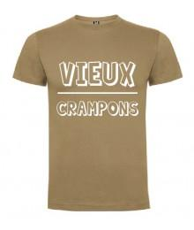 Tee Shirt Frenchie Vieux crampons