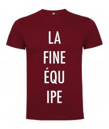 Tee Shirt Frenchie La fine équipe