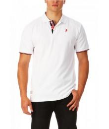 Polo Ruckfield Angleterre Blanc