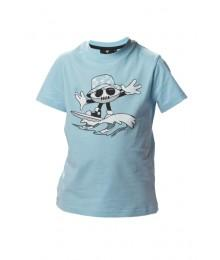 "Tee Shirt Rugby Division ""SURF"" bleu crystal"