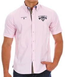 Chemise Ruckfield Rugby 1977 Rose