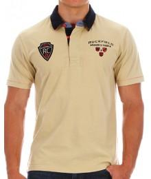 Polo Ruckfield Beige Maison Du Rugby