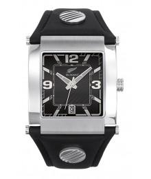 Montre All Blacks  Cuir et  Argentée