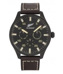 Montre All Blacks Cuir Marron
