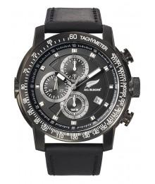 Montre All Blacks Cuir Noir