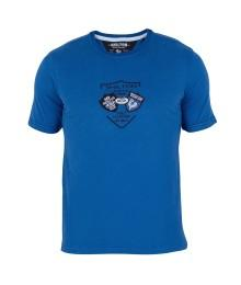 Tee shirt Shilton Test match Bleu