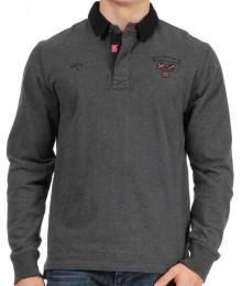 Polo Ruckfield Maison de Rugby Gris