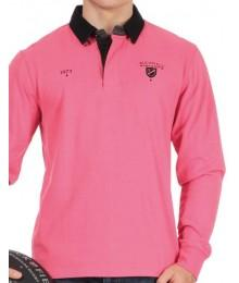 Polo Ruckfield Maison de Rugby Rose