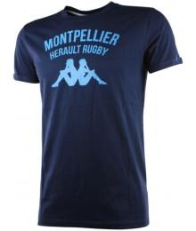 Tee shirt Kappa Ginola Montpellier Hérault Rugby