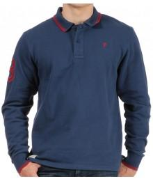 Polo ML Bleu Ruckfield