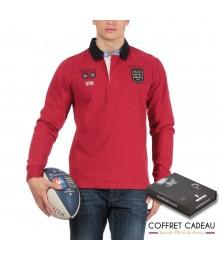 Coffret Polo Rouge Ruckfield