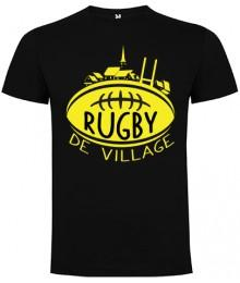 "Tee Shirt ""Village"" LoLRugby Gris"