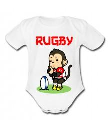 Body bébé Japon rugby