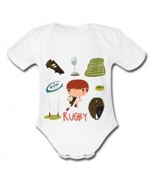 Body bébé Rugby kids