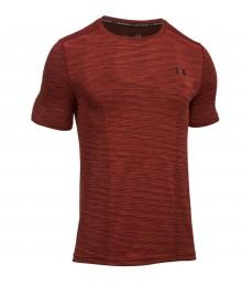 Tee Shirt Threadborne Seamless Under Armour Red