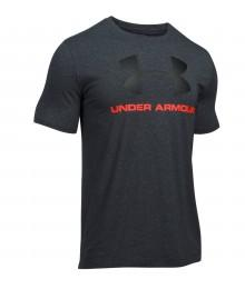 Tee shirt Under Armour Noir Logo Noir