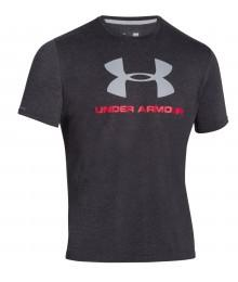 Tee shirt Under Armour Noir Logo gris