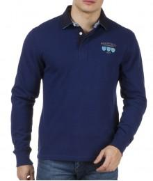 Polo ML Ruckfield bleu foncé We Are Rugby