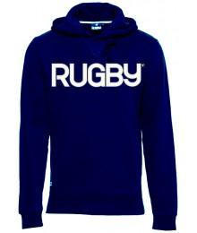 "Sweat Capuche Rugby Division ""PREMIER"" Marine"