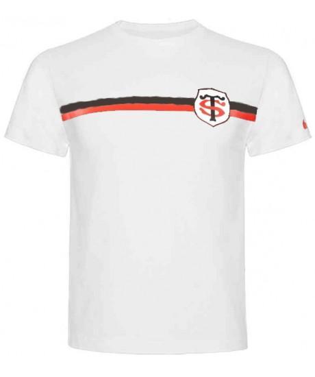 Tee Shirt Blanc Nike Stade Toulousain Esprit Rugby
