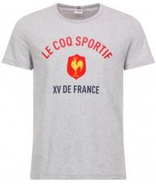 TEE-SHIRT BLANC SUPPORTER XV DE FRANCE 2018-2019