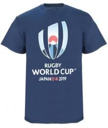 Tee Shirt RWC Japon 2019  Marine  Big Logo
