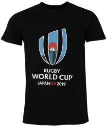 Tee Shirt RWC Japon 2019  Noir Big Logo