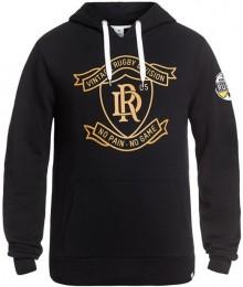 "Sweat Capuche Rugby Division ""GILBERT"" Noir"