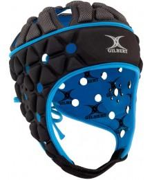 CASQUE GILBERT AIR HEADGUARD Noir/Bleu